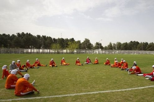 Футбол в Иране: когда женщины — мужчины!