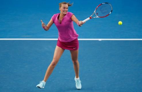 Доха (WTA). Квитова выбивает Винус, Викмайер огорчает Возняцки