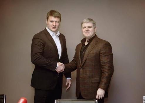 Поветкин: контракт с промоутерами и бой в мае