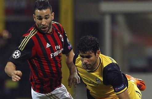 Атлетико победил в Милане