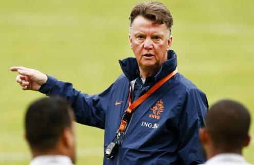 Ван Гаал хочет тренировать сборную Англии
