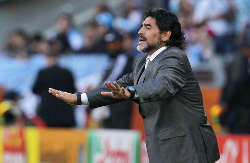 Марадона вернется на поле?