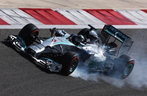 Формула-1. Тесты в Сахире. Росберг задает темп