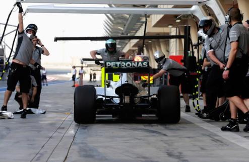 Формулы-1. Статистика тестовых дней Бахрейна
