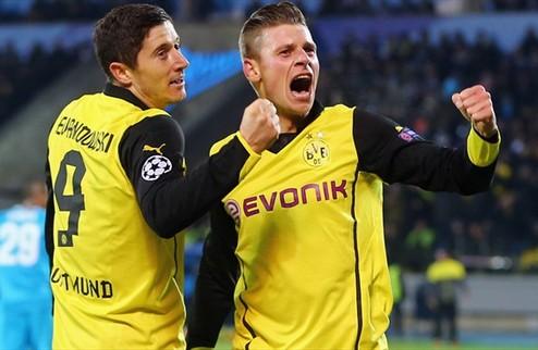 Дортмунд не оставил шансов Зениту
