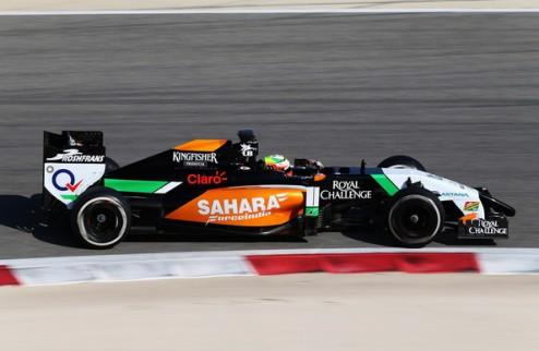 Формула-1. Тесты в Сахире. Перес лидирует в первый день