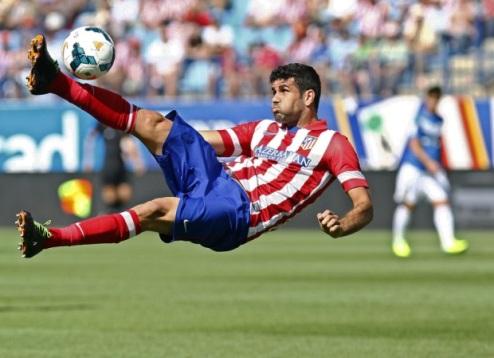 Коста вызван на матч Испании