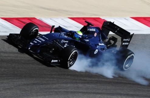 Формула-1. Тесты в Сахире. Масса обновляет текущий рекорд, Феттель пропускает сессию