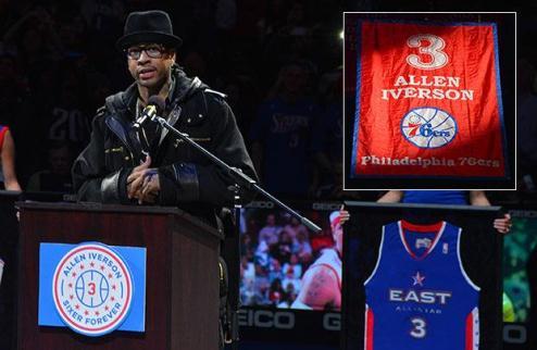 НБА. Филадельфия вывела из обращения номер Айверсона