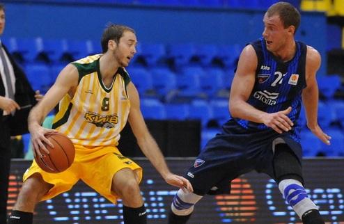 Суперлига. БК Киев переигрывает Днепр