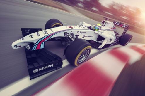 Формула-1. Уильямс: новый болид в новых цветах