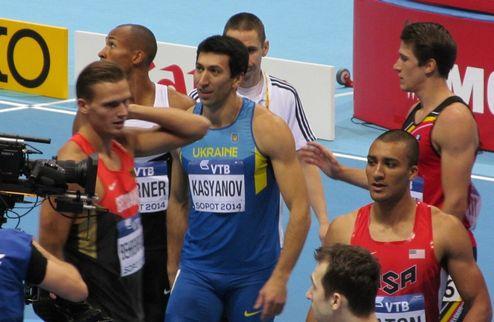 Легкая атлетика. ЧМ-2014. Касьянов после четырех видов семиборья третий