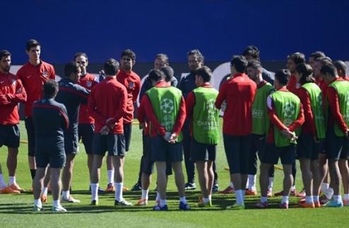 Симеоне в игре с Миланом сделает ставку на Косту, Турана, Година, Вилью и Сосу