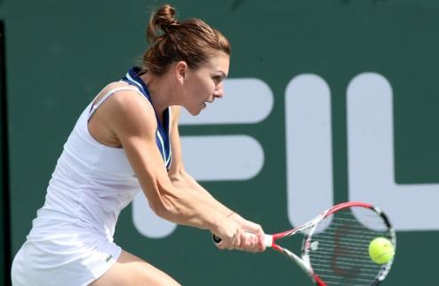 Индиан-Уэллс (WTA). Халеп и Радваньска в полуфинале
