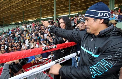 Маркес согласился драться с Альварадо