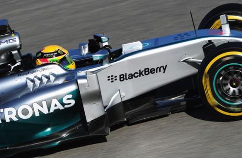 Формула-1. Гран-при Австралии. Хэмилтон выигрывает вторую практику