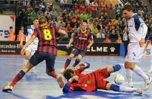 Футзал. Мовистар и Барса сыграют в полуфинале Кубка Испании + ВИДЕО
