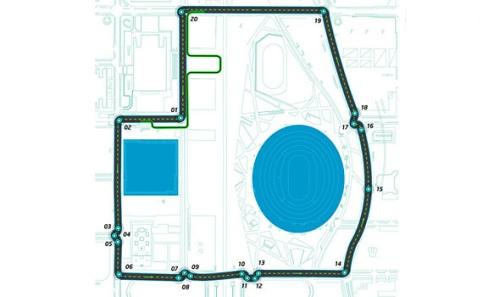 Формула-Е. Обнародована схема трассы в Пекине