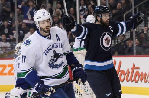 НХЛ. Ванкувер: Кеслер пропустит несколько недель