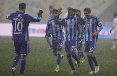 Динамо: минимальная победа над Таврией