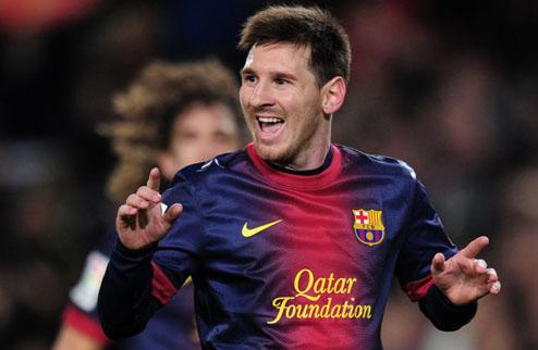 Месси — самый результативный игрок в истории Барселоны