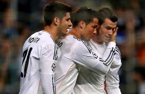 Реал снова бьет Шальке