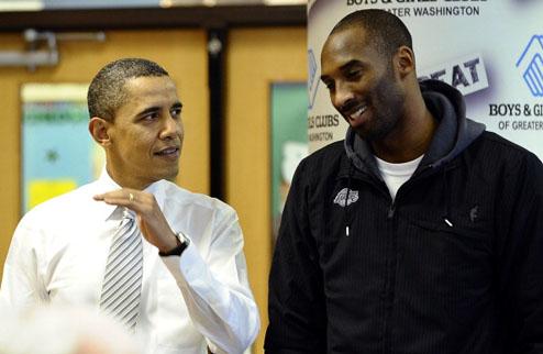 """НБА. Брайант: """"Обама мог бы усилить нынешний Лейкерс"""""""
