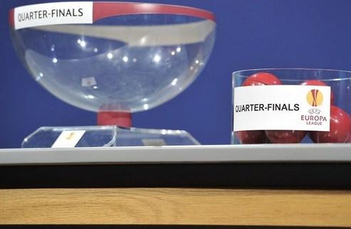 Жеребьевка 1/4 финала Лиги чемпионов и Лиги Европы. Как это было