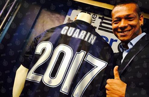 Официально: Гуарин продлил контракт с Интером