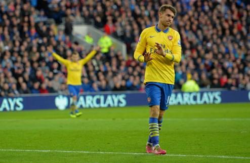 Арсенал: Рэмси вернется через две недели