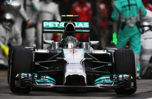 Формула-1. Гран-при Малайзии. Росберг выигрывает вторую практику