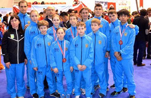 Ушу: пять наград для сборной Украины
