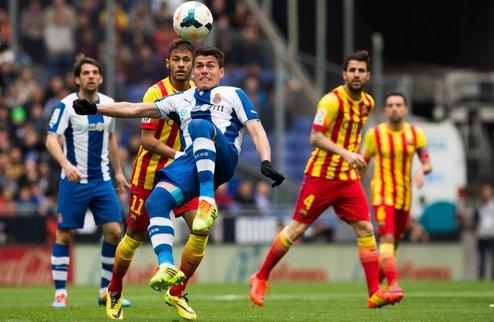 Барселона выиграла каталонское дерби, Севилья проиграла Сельте