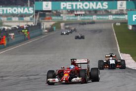 """Формула-1. Алонсо: """"Я всю гонку ехал довольно медленно"""""""