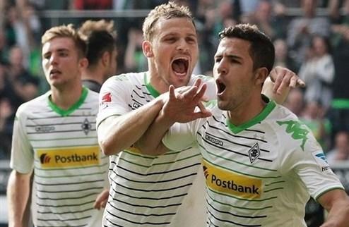 Раффаэль помог Гладбаху разбить Гамбург
