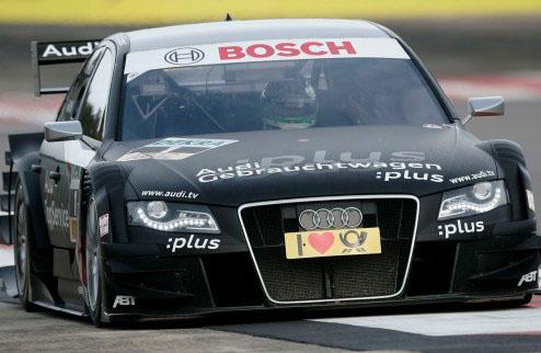 DTM. Гонщики Ауди лидируют на тестах в Венгрии