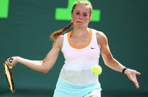 Катовице (WTA). Бек разбила в дерби Бартель