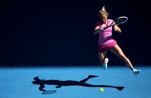 Катовице (WTA). Провал Пиронковой, Джорджи выбивает Винчи