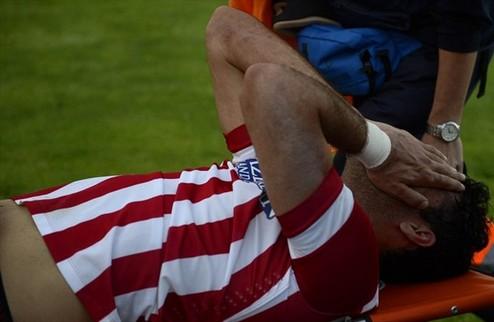 Диего Коста отделался легким повреждением