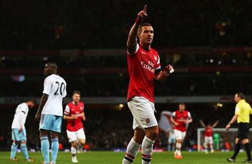 Арсенал вернулся на четвертое место