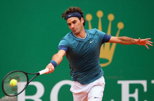 Федерер доволен стартом в Монте-Карло