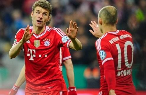 Бавария вышла в финал Кубка Германии