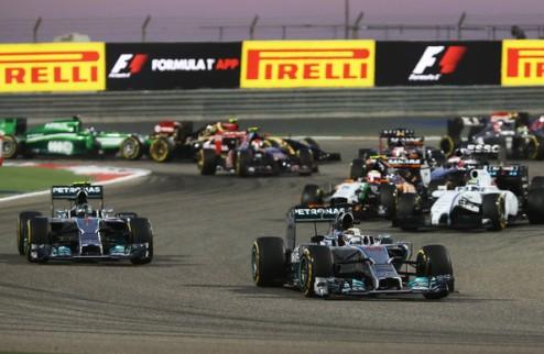 Формула-1: ГП Китая стало короче на два круга