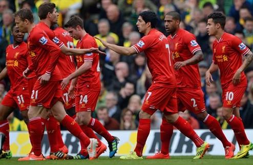 Ливерпуль: еще ближе к чемпионству