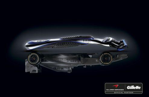 Gillette � McLaren Mercedes ��������� � �����������