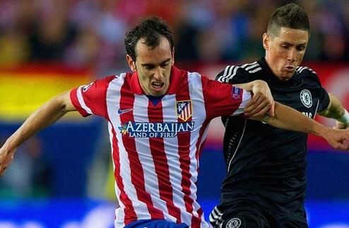 Челси сдержал Атлетико в Мадриде
