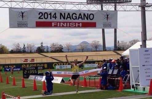 Легкая атлетика. Лебедь выиграл марафон в Японии