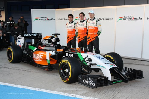 Формула-1. У Форс Индии довольны этапом в Шанхае
