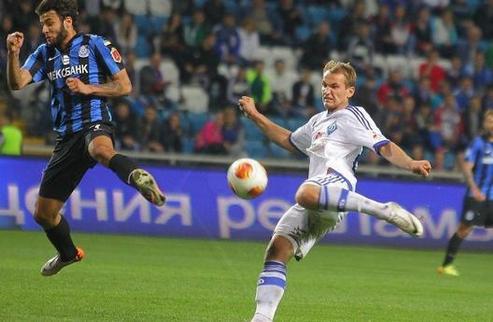 Динамо спаслось от поражения в Одессе