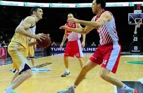 Еврокубок. Лавринович — во второй сборной турнира